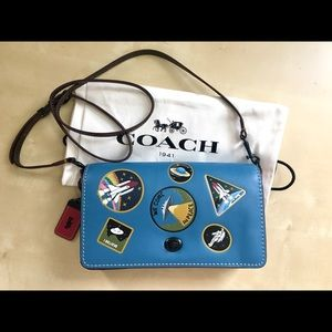 Coach 1941 Dinky with Space Patchment Crossbody